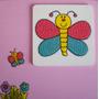 Cuadro Infantil De Mariposas