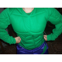 Disfraz Increible Hulk Niños Y Adultos