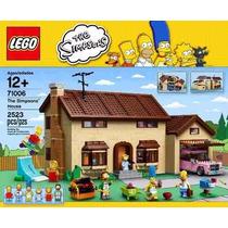 Lego 71006 La Casa / House De Los Simpsons - Nuevo!