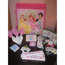 Princesas - Candy Bar Premium Personalizado A 50$ X Niño