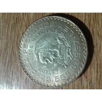 10 Pesos Plata Mexico 1957
