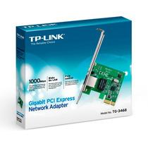 Placa De Red Pci Express Tp Link Gigabit 10/100/1000 Tg3468