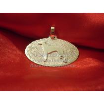 Galgo - Importante Medalla..!! Plata 950 - Envío Gratis