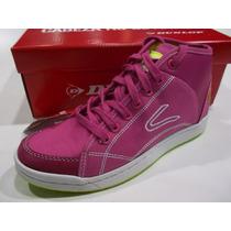 Zapatillas Botita Dunlop Perfection Hi Lace Mujer Original