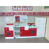 Muebles Cocina Infantil Juego Cocinita Casita Rincon Jardin ...