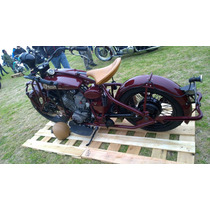 Honda Shadow Vt500 Estilo Indian