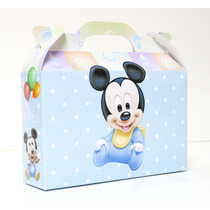 Cajita Mickey Bebé X20 + 20 Minnie Bebe (pack X40)