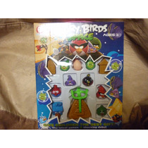 Juego Angry Birds Space En Valijita Organizadora