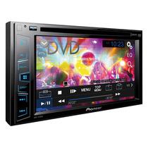 Stereo Dvd Pioneer Avh 175dvd Pantalla 6.2 Doble 2 Din