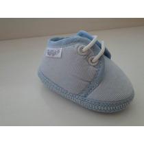 Zapatitos Acordonados Para Bebé. No Caminante.