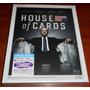 Blu Ray House Of Cards Temporada 1 Completa 4 Disc - Local