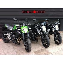 Kawasaki Er 6 N 0km !! Puntomoto !! 4642-3380