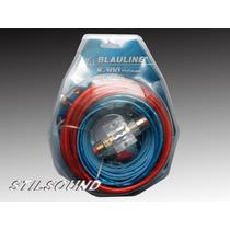 Kit De Cables Para Potencias 10 Gauges Blauline