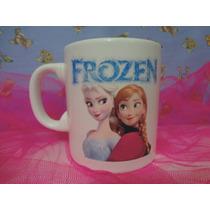 Tazas Frozen Imagen Foto Regalo Cumpleaños Infantil Souvenir