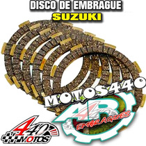 Discos Embrague Suzuki Dr 125 En Motos440!!!