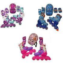 Set Rollers Frozen Princesa Sofia Mickey Disney Extensibles