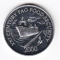 Panamá, Moneda De 1 Centésimo Del Año 2000, Sin Circular