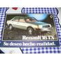 Folleto Publicidad Caracteristicas Tecnicas De Renault 18 Tx