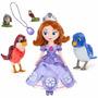 Super Combo Princesa Sofia + Personajes + Amuleto + Bolsa X5