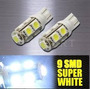Lampara Led T10 9 Smd Grande Posicion Interior Patente Xenon
