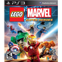 Lego Marvel Super Heroes Ps3 + Sorpresa | Tarjeta Digital