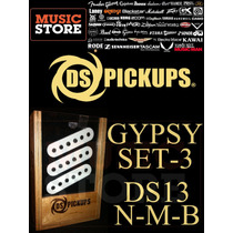 Microfonos Ds Pickups Gypsy Ds13 N-m-b Nuevos!! Imperdibles!