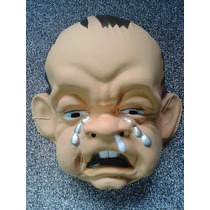 Mascara /careta Plástica Nene Llorando. Cotillón
