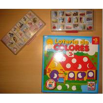 Juego Memoria Disney Princesas Cars + Lotería Colores X $150