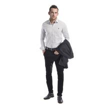 Camisa A Lunares De Vestir Elegante Sport - Relax Multimarca
