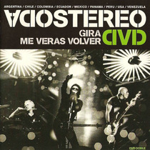 Soda Stereo Me Veras Volver Gira 2007 (2 Dvd) Gustavo Cerati