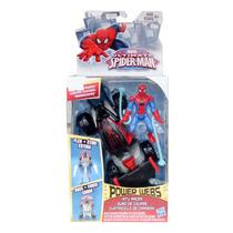 Vehículo Hombre Araña Cuatriciclo De Carrera Spider Man