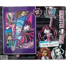 Frazada Sup Soft Licencia Original Infantil Monster Violetta