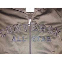 Campera Converse All Star Original - Acetato Color Chocolate