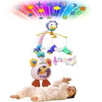 Movil Cunero Proyector De Cuna Bebe Pata Vtech 4en1envio Int