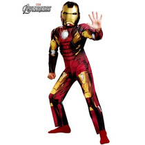 Disfraz Musculos Iron Man 3 Patriot Vengadores Avengers