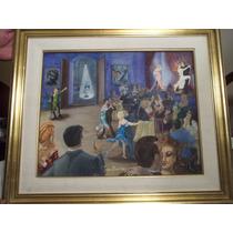 Jorge Balerga Pintura Al Óleo Con Certificado Autenticidad