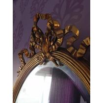 Espejo Antiguo Para Princesas Blancanieves Respaldos Mesas