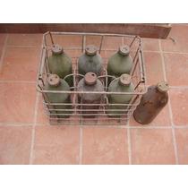 Botella Antigua De Aceite