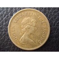 Hong Kong - Moneda De 50 Centavos, Año 1977 - Muy Bueno