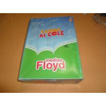 Pack 3 Pares De Medias Colegial Floyd Azul Y Verde