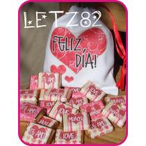 Bolsita De Tela + Chocolates Personalizados Apto Celíacos!