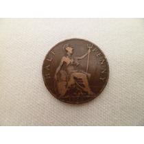 ººº Gran Bretaña Half Penny Año 1903 * Buena * ººº #744