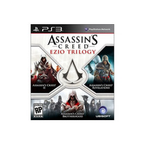 Ps3 Assassin`s Creed Ezio Trilogy * Nuevo Y Sellado * 3 En 1