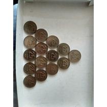 Monedas De 25 Centavos Argentina Colección 1994