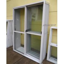 Puerta Ventana Aluminio Balcon 180x200 Vidrio Entero Va-008
