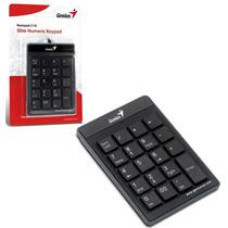 Teclado Numerico Usb Genius Numpad I110 Usb Slim Notebook