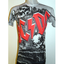 Remera Modelo. Ac/dc Ac Dc -sublimada Color Nuevo 2014