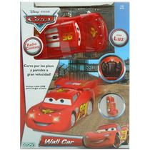 Cars Wall Car, Recorre Paredes Y Pisos A Radio Control