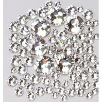 80 Strass Cristal De Alto Brillo 4 Mm Uñas Nail Art Local