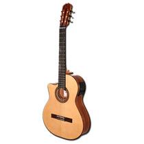 Guitarra La Alpujarra 85 Kec Para Zurdo